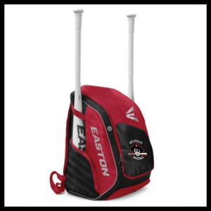 Easton Elite X Back Pack with Wellesley Embroidery