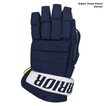 Warrior Alpha Custom Hockey Glove- Senior