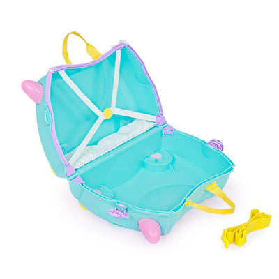 Trunki Una Unicorn barnekoffert tom åpen