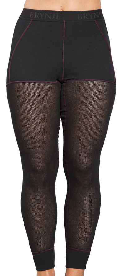 Brynje Wool Thermo Light Longs Dame - Black