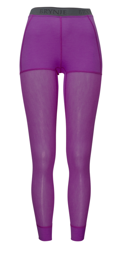 Brynje Wool Thermo Light Longs Dame - Violet
