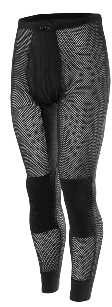 Brynje Wool Thermo Longs w/inlay - Black