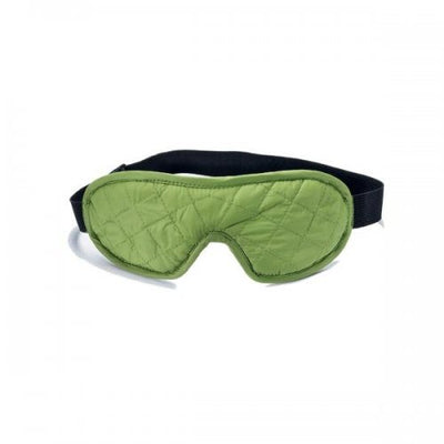 Cocoon Eye Shades De Luxe sovemaske - Wasabi Green front