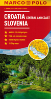 Croatia & Slovenia Map