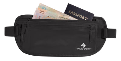 Eagle Creek Silk Money Belt Black pengebelte