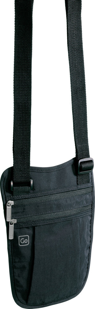 Go Travel Shoulder Holster Wallet pengebelte Black