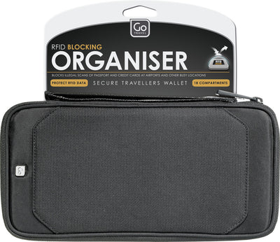 Go Travel RFID Organiser Black