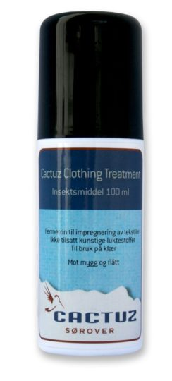 Cactuz Clothing Treatment Tekstilspray med Permethrin