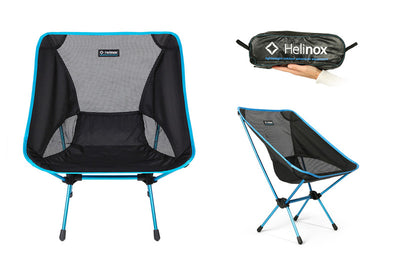 Helinox Chair One Black sammenleggbar campingstol