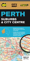 UBD Gregory - Perth City & Suburbs map - Reisekart