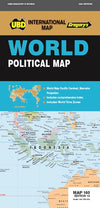 UBD Gregory - World Political 160 Pacific Centered - Reisekart