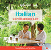 Lonely Planet - Italian Phrasebook and Audio CD - 9781743603703