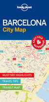 Lonely Planet - Barcelona City Map bykart - 9781786574107