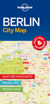 Lonely Planet - Berlin City Map bykart - 9781786574114