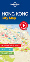 Lonely Planet - Hong Kong City Map bykart - 9781786574121