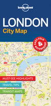Lonely Planet - London City Map - 9781786574138