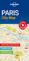 Lonely Planet - Paris City Map - 9781786574152