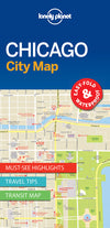 Lonely Planet - Chicago City Map bykart - 9781786575012