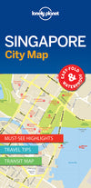 Lonely Planet - Singapore City Map - 9781786575074