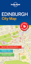 Lonely Planet - Edinburgh City Map bykart - 9781786575098