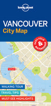 Lonely Planet - Vancouver City Map - 9781786576606