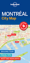 Lonely Planet - Montreal City Map - 9781786576613