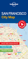 Lonely Planet - San Francisco City Map - 9781786577818