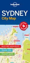 Lonely Planet - Sydney City Map - 9781786577825