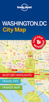 Lonely Planet - Washington DC City Map - 9781786577849