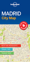 Lonely Planet - Madrid City Map - 9781786577856