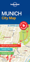 Lonely Planet - Munich City Map - 9781786577870