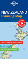 Lonely Planet - New Zealand Planning Map - 9781786579041