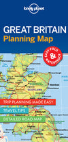 Lonely Planet - Great Britain Planning Map kart - 9781786579058
