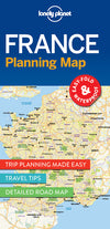Lonely Planet - France Planning Map kart - 9781786579065
