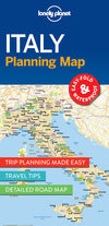 Lonely Planet - Italy Planning Map - 9781786579072