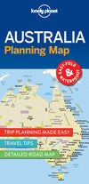 Lonely Planet - Australia Planning Map kart - 9781786579089