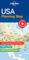 Lonely Planet - USA Planning Map - 9781786579096
