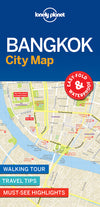 Lonely Planet - Bangkok City Map bykart - 9781786579133