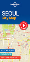 Lonely Planet - Seoul City Map - 9781786579164