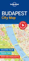 Lonely Planet - Budapest City Map bykart - 9781786579171