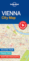 Lonely Planet - reiseguider - Vienna City Map - Bykart - 9781786579188