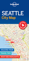 Lonely Planet - Seattle City Map - 9781786579195
