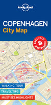 Lonely Planet - Copenhagen City Map bykart - 9781787014473