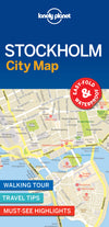 Lonely Planet - Stockholm City Map - 9781787014480
