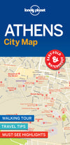 Lonely Planet - Athens City Map bykart - 9781787014503