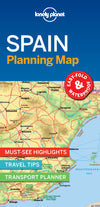 Lonely Planet - Spain Planning Map - 9781787014527