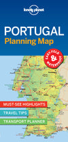 Lonely Planet - Portugal Planning Map - 9781787014534