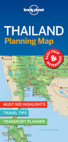 Lonely Planet - Thailand Planning Map - 9781787014558