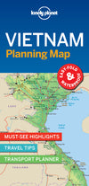 Lonely Planet - Vietnam Planning Map - 9781787014565