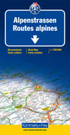 Kummerly & Frey - Alpine roads map - Reisekart